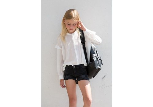 Designers Remix Girls Jr New Moon Destroyed Shorts