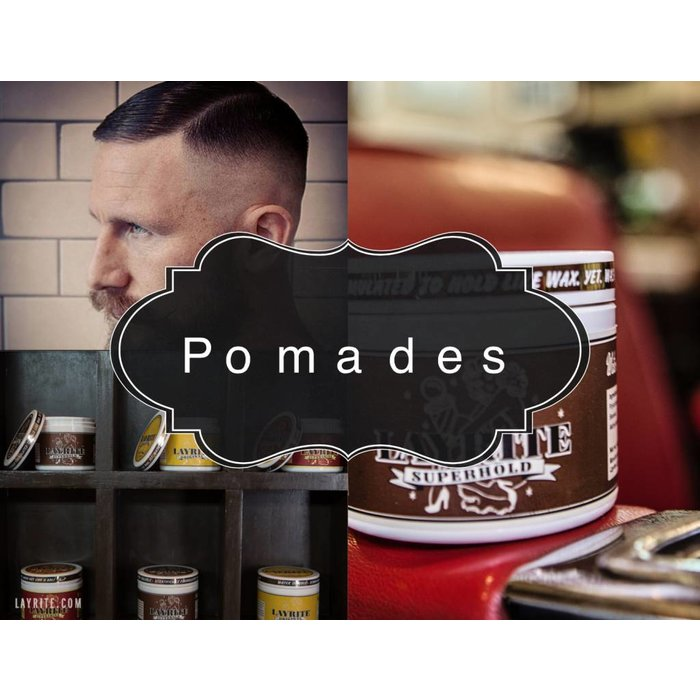 - Super Hold Pomade XL