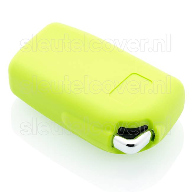 Peugeot SleutelCover - Lime groen / Silicone sleutelhoesje / beschermhoesje autosleutel