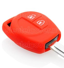 Nissan SleutelCover - Rood