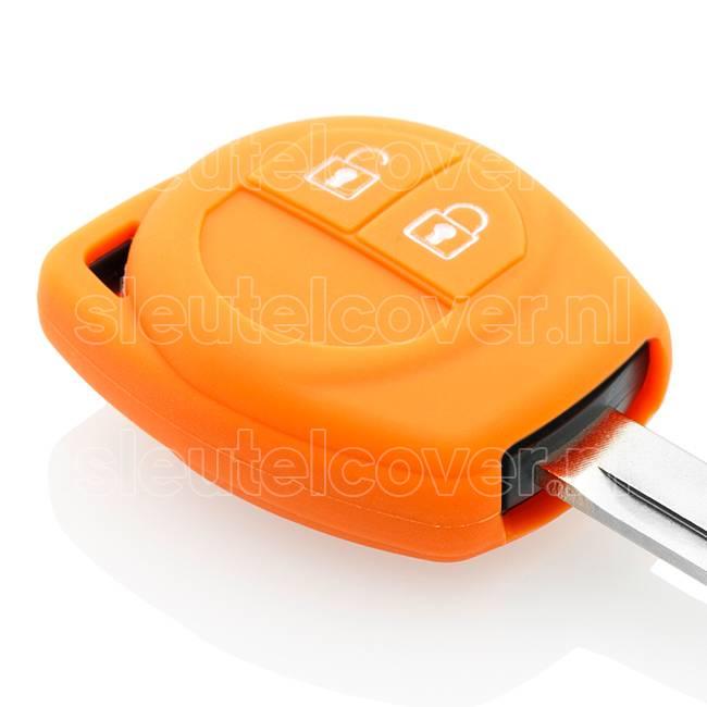 Nissan SleutelCover - Oranje / Silicone sleutelhoesje / beschermhoesje autosleutel