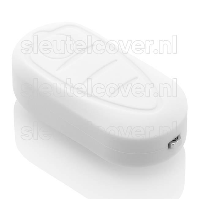 Alfa Romeo SleutelCover - Wit / Silicone sleutelhoesje / beschermhoesje autosleutel