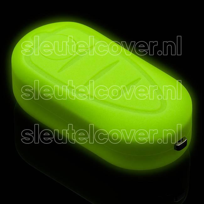 Alfa Romeo SleutelCover - Glow in the dark / Silicone sleutelhoesje / beschermhoesje autosleutel