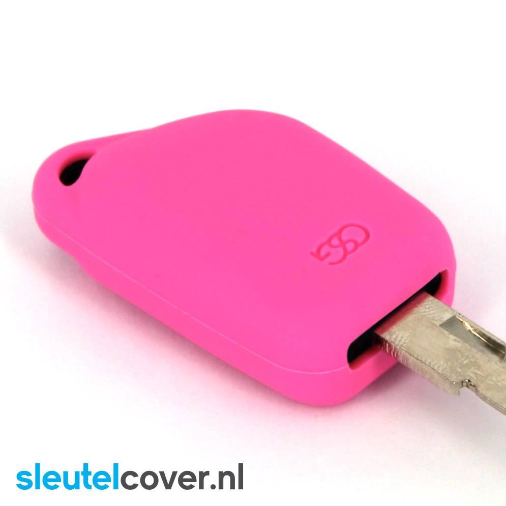 Citroën SleutelCover - Roze / Silicone sleutelhoesje / beschermhoesje autosleutel