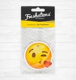 Freshations auto luchtverfrisser | Emoticon - Kiss | Vanilla