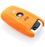 BMW SleutelCover - Oranje / Silicone sleutelhoesje / beschermhoesje autosleutel