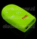 Jeep SleutelCover - Glow in the dark / Silicone sleutelhoesje / beschermhoesje autosleutel
