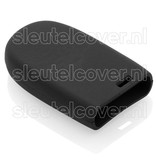 Jeep SleutelCover - Zwart / Silicone sleutelhoesje / beschermhoesje autosleutel