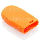 Jeep SleutelCover - Oranje / Silicone sleutelhoesje / beschermhoesje autosleutel