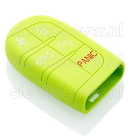 Jeep SleutelCover - Lime