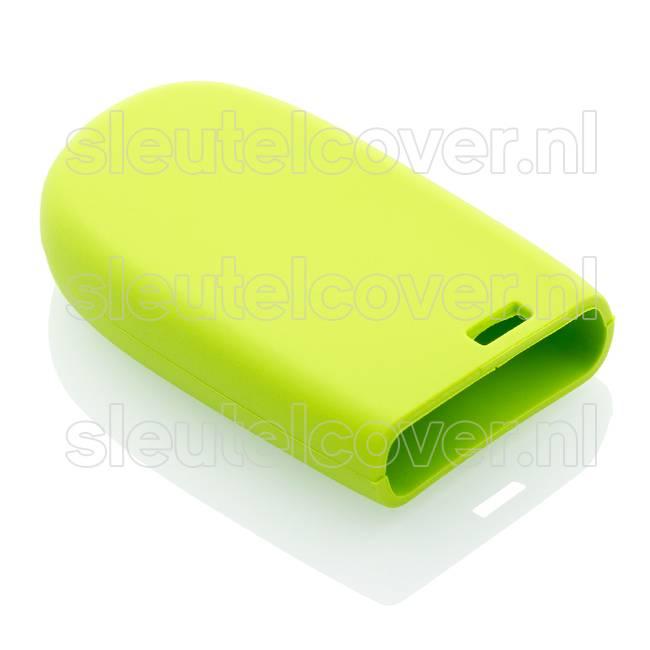 Jeep SleutelCover - Lime groen / Silicone sleutelhoesje / beschermhoesje autosleutel