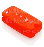 Jeep SleutelCover - Rood / Silicone sleutelhoesje / beschermhoesje autosleutel