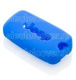 Jeep SleutelCover - Blauw / Silicone sleutelhoesje / beschermhoesje autosleutel