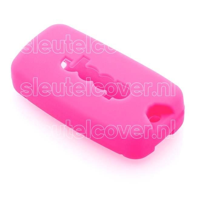 Jeep SleutelCover - Roze / Silicone sleutelhoesje / beschermhoesje autosleutel