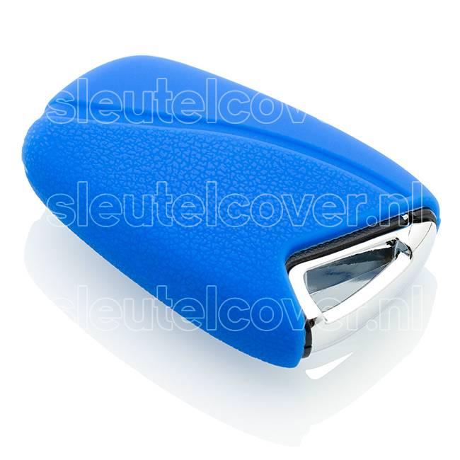 Hyundai SleutelCover - Blauw / Silicone sleutelhoesje / beschermhoesje autosleutel