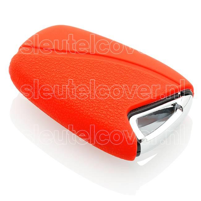 Hyundai SleutelCover - Rood / Silicone sleutelhoesje / beschermhoesje autosleutel