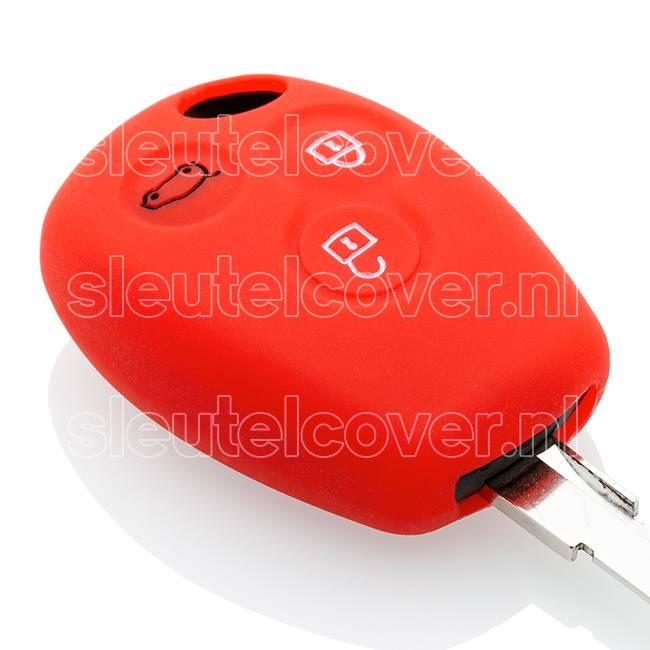 Dacia SleutelCover - Rood / Silicone sleutelhoesje / beschermhoesje autosleutel