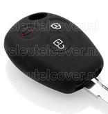 Dacia SleutelCover - Zwart / Silicone sleutelhoesje / beschermhoesje autosleutel