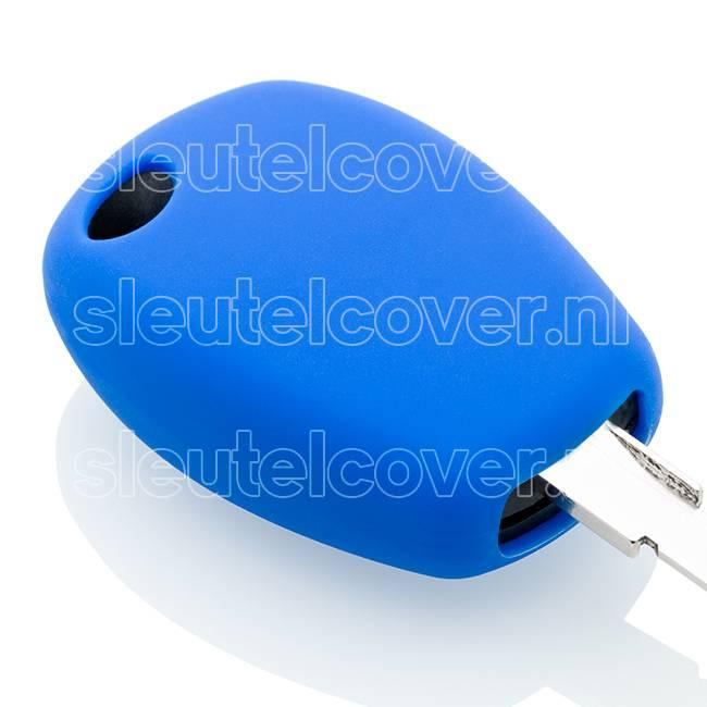 Dacia SleutelCover - Blauw / Silicone sleutelhoesje / beschermhoesje autosleutel