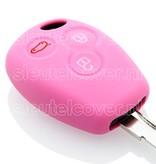 Dacia SleutelCover - Roze / Silicone sleutelhoesje / beschermhoesje autosleutel