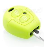 Volkswagen SleutelCover - Lime groen / Silicone sleutelhoesje / beschermhoesje autosleutel