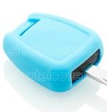 Opel SleutelCover - Lichtblauw / Silicone sleutelhoesje / beschermhoesje autosleutel