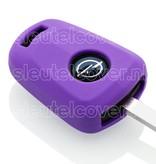Opel SleutelCover - Paars / Silicone sleutelhoesje / beschermhoesje autosleutel