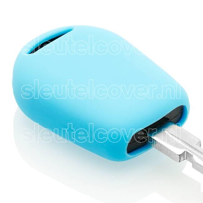 BMW SleutelCover - Lichtblauw / Silicone sleutelhoesje / beschermhoesje autosleutel