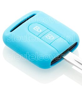 Nissan SleutelCover - Lichtblauw