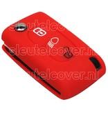 Peugeot SleutelCover - Rood / Silicone sleutelhoesje / beschermhoesje autosleutel