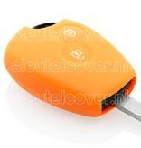 Dacia SleutelCover - Oranje / Silicone sleutelhoesje / beschermhoesje autosleutel