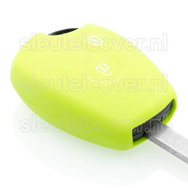 Dacia SleutelCover - Lime groen / Silicone sleutelhoesje / beschermhoesje autosleutel