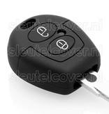 Seat SleutelCover - Zwart / Silicone sleutelhoesje / beschermhoesje autosleutel