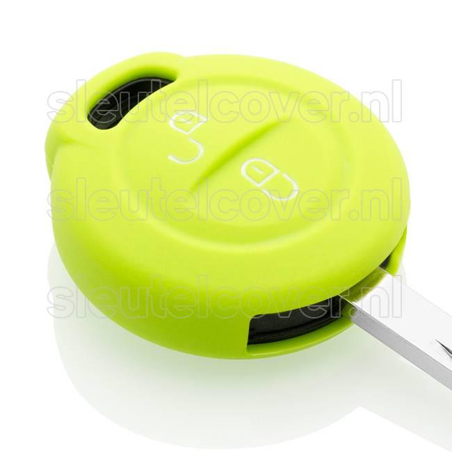 Mitsubishi SleutelCover - Lime groen / Silicone sleutelhoesje / beschermhoesje autosleutel