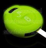 Mitsubishi SleutelCover - Glow in the dark / Silicone sleutelhoesje / beschermhoesje autosleutel