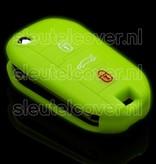 Peugeot SleutelCover - Glow in the dark / Silicone sleutelhoesje / beschermhoesje autosleutel
