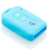 Nissan SleutelCover - Lichtblauw / Silicone sleutelhoesje / beschermhoesje autosleutel