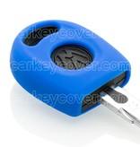 Volkswagen SleutelCover - Blauw / Silicone sleutelhoesje / beschermhoesje autosleutel