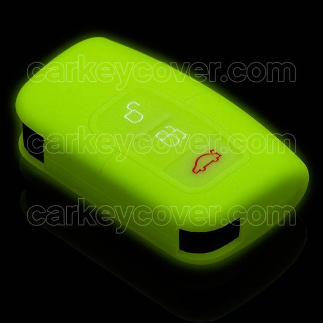 SleutelCover - Glow in the dark / Silicone sleutelhoesje / beschermhoesje autosleutel