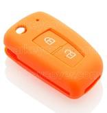 SleutelCover - Oranje / Silicone sleutelhoesje / beschermhoesje autosleutel