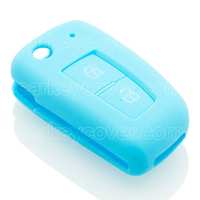 SleutelCover - Lichtblauw / Silicone sleutelhoesje / beschermhoesje autosleutel
