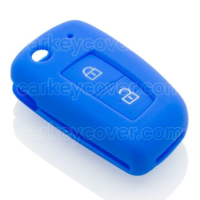 SleutelCover - Blauw / Silicone sleutelhoesje / beschermhoesje autosleutel