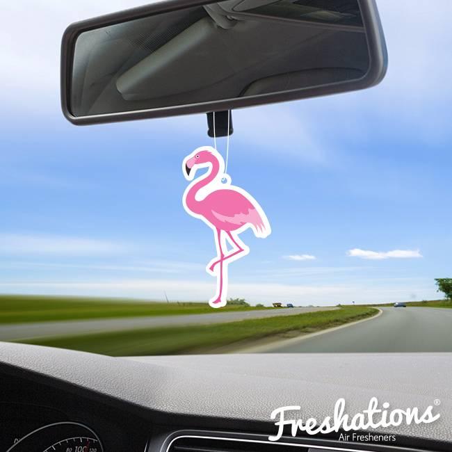 Freshations Auto luchtverfrisser   Summer - Flamingo   Fruit Cocktail