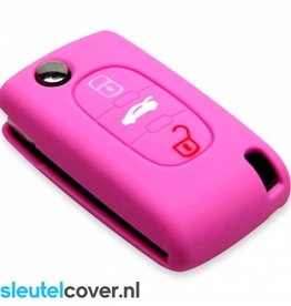 Fiat SleutelCover - Roze