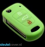Hyundai SleutelCover - Glow in the dark / Silicone sleutelhoesje / beschermhoesje autosleutel