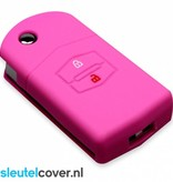 Mazda SleutelCover - Roze / Silicone sleutelhoesje / beschermhoesje autosleutel