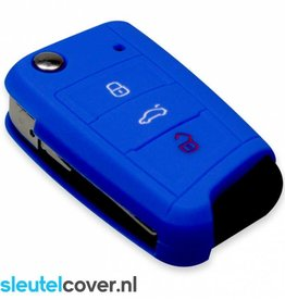 Seat SleutelCover - Donker Blauw