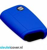 Seat SleutelCover - Donker Blauw / Silicone sleutelhoesje / beschermhoesje autosleutel
