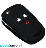 Chevrolet SleutelCover - Zwart / Silicone sleutelhoesje / beschermhoesje autosleutel