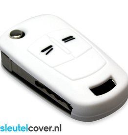 Opel SleutelCover - Wit